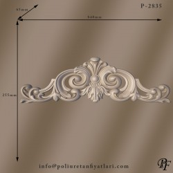 2835 poliüretan taç modelleri kapı pencere üstü ayna ve çerçeve uygulamalarını taçlandırma dekorasyonu
