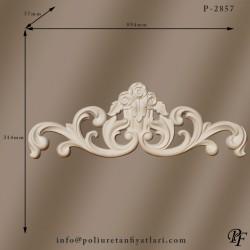 2857 poliüretan taç dekorasyonu kapı ve pencere tacı uygulamaları ve fiyatları