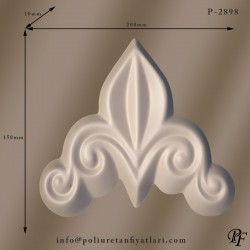 2898 poliüretan duvar süsleme ve dekorasyonu modeli fiyatı