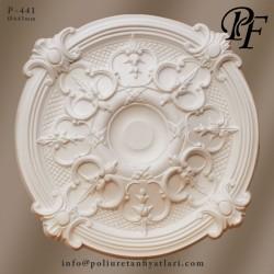 441 poliüretan tavan göbekleri dekorasyon fiyatları