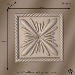 4816 poliüretan dekoratif süslemeler duvar tavan dış cephe süslemesi ve iç dekorasyon