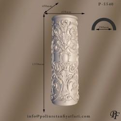 5540 40 çaplı poliüretan desenli sütun ayağı alt kaidesi motifli sutun fiyatları