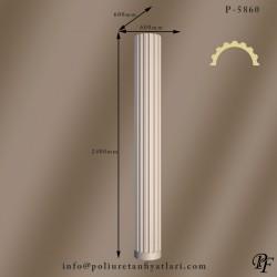5860 60 çapında poliüretan yivli sütun modelleri fiyatları