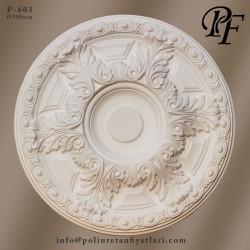 603 poliüretan tavan göbek fiyatları