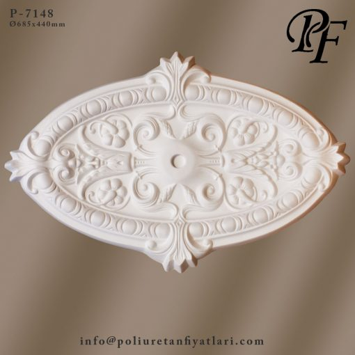 7148 poliüretan tavan modelleri ve göbek fiyatları uygulaması