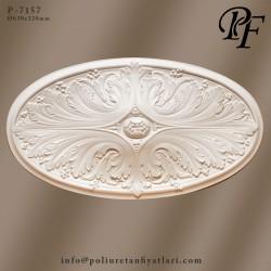 7157 poliüretan tavan modelleri ve göbek fiyat uygulaması