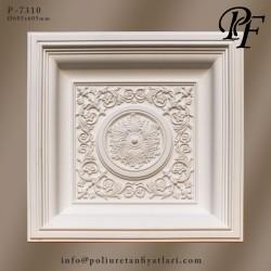 7310 poliüretan tavan dekorasyonu göbek fiyatları süsleme uygulaması