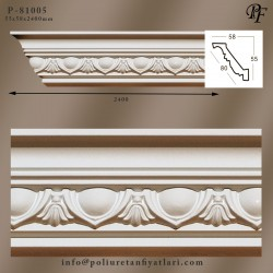 81005 poliüretan tavan kartonpiyer model fiyatları