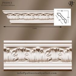 81013 poliüretan dekoratif tavan köşe ve perdelik uygulama kartonpiyer modelleri