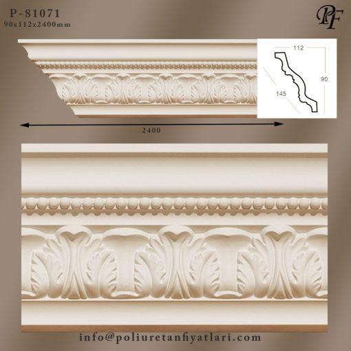 81071 poliüretan tavan süsleme kartonpiyer modelleri ve fiyatları