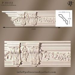 81132 poliüretan çift payandalı tavan kartonpiyeri modelleri fiyatı