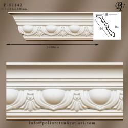 81142 poliüretan kartonpiyer tavan ve köşe süsleme  korniş model ve fiyatları