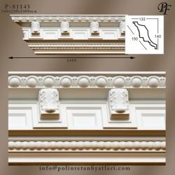 81143 poliüretan payanda motifli tavan kartonpiyer modelleri fiyatı