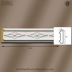 82012 poliüretan motifli bordür dekoratif çıta modeli fiyatı