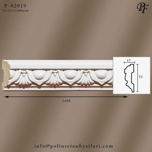 82019 poliüretan dekoratif çıta dekorasyon model fiyatı