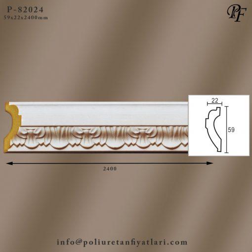 82024 poliüretan dekoratif bordür ve çıta modelleri fiyatları