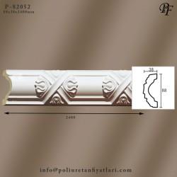 82052 poliüretan dekoratif çiçek desenli bordür ve çıta modelleri fiyatları