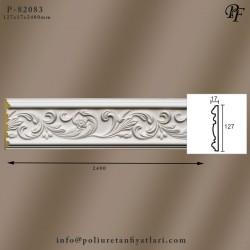 82083 poliüretan dekoratif çiçek motifli bordür model fiyatları