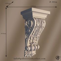 9916 Poliüretan dekorasyon köpük cephe fasade payanda modelleri fiyatları