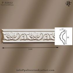 P-82022 poliüretan sert köpük dekoratif bordür uygulaması ve fiyatlrı