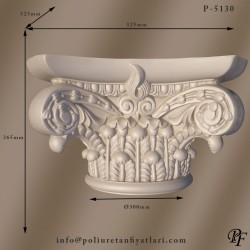P5130 Poliüretan roma iyon Sütun Başlığı Fiyatları