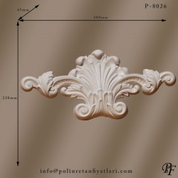8026 dekoratif poliüretan süslemeleri uygulaması ve fiyatı