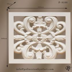 8108 dekoratif poliüretan panel modelleri transparan sert köpük duvar panelleri fiyatları