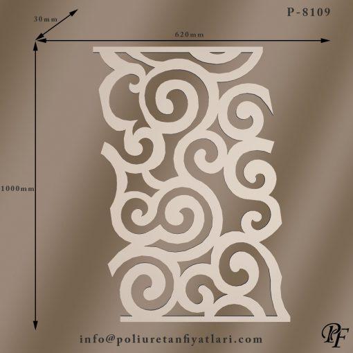 8109 duvar, cephe ve ünite dekorasyonu için sert köpük poliüretan panel ve fiyatları