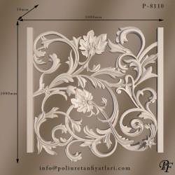 8110 sarmaşık poliüretan panel modeli dış cephe duvar tavan ve iç dekorasyon için paneller ve fiyatları